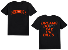 BEENDOPE BLACK T-SHIRT + DIGITAL ALBUM